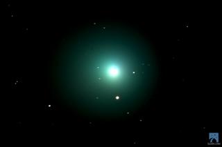 Comet Lovejoy photographed by G Dudek using Slooh
