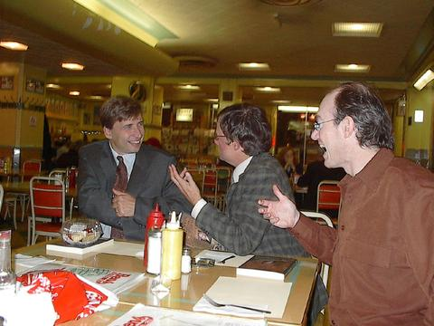 Greg Dudek, Ray Filip, Geof Isherwood, Sept. 2003