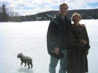 Greg and his Mom, at the cottage