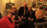 Greta Gundersen at 90th birthday