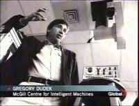 Gregory Dudek on Global TV